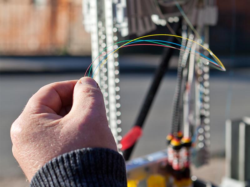Glasfaser-Internet bietet die höchsten Übertragungsraten